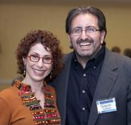 Heidi with Glenn Yeffeth, Publisher Benbella Books
